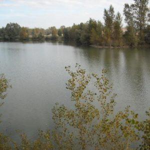 Le plan d'eau de Villemouze