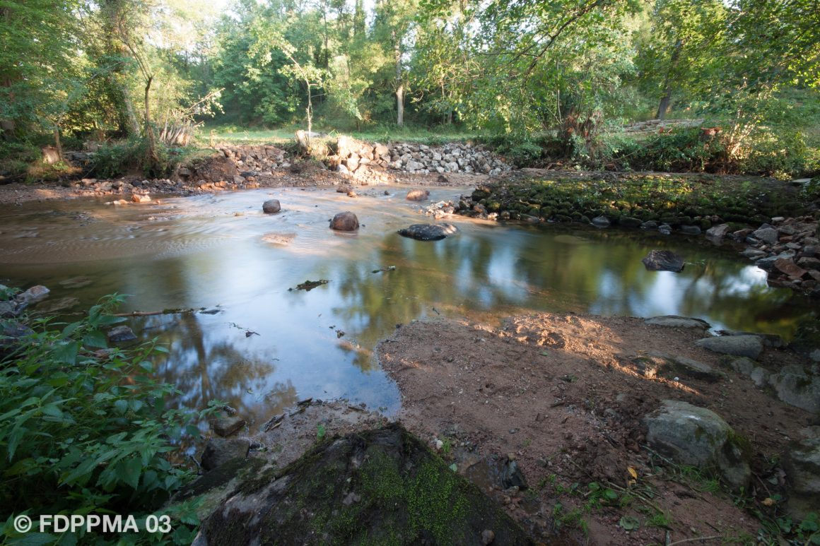 Restauration de la continuité écologique sur le Barbenan