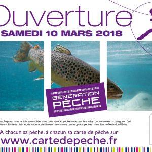 Samedi 10 mars : ouverture de la pêche à la truite