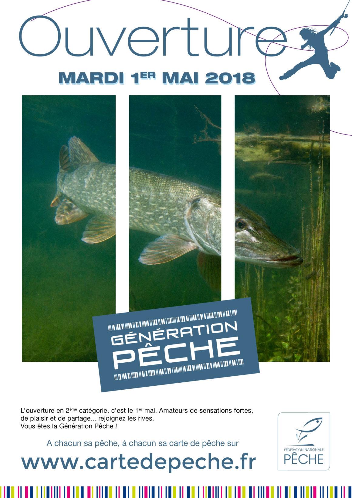 Mardi 1er mai : ouverture de la pêche des carnassiers en 2ème catégorie