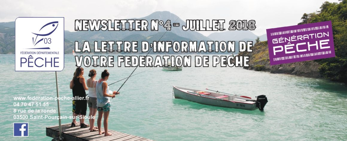 Newsletter n°4 FDPPMA03 – Juillet 2018