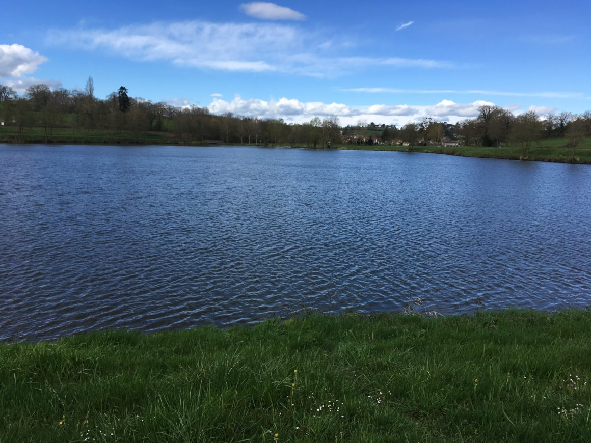 Nouveau plan d'eau accessible avec la carte de pêche au Donjon
