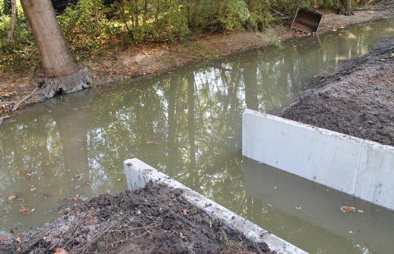 RESTAURATION ET RECONNEXION D'UNE ZONE DE FRAYERE SUR LE CANAL DE BERRY A MEAULNE
