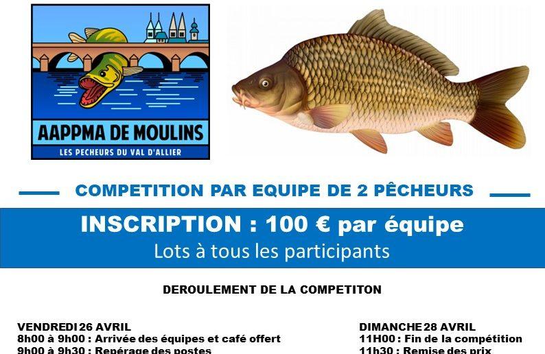 Enduro carpe AAPPMA de Moulins