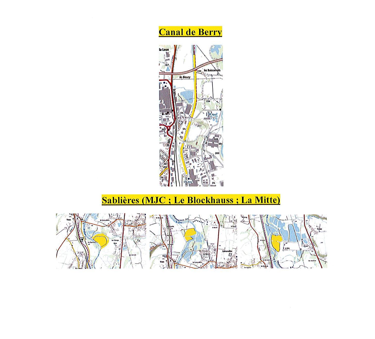 4 – Parcours déversements 2ème catégorie AAPPMA MONTLUCON