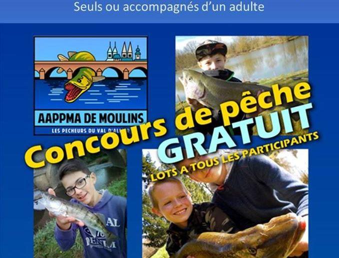 Concours de pêche spécial jeunes