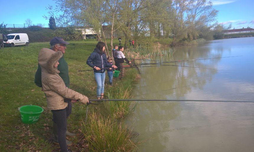 La 1ère journée de pêche au bassin Maurice à Lapalisse a été fructueuse
