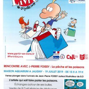 Partir en livre à Jaligny sur Besbre – Rencontre/échanges avec Jean-Pierre FOISSY