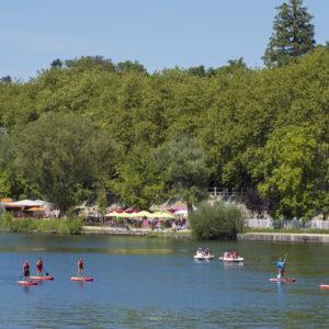 Le lac d'Allier à Vichy