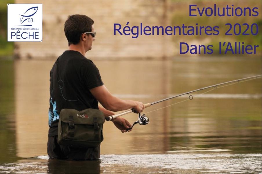 Evolutions réglementaires – saison 2020