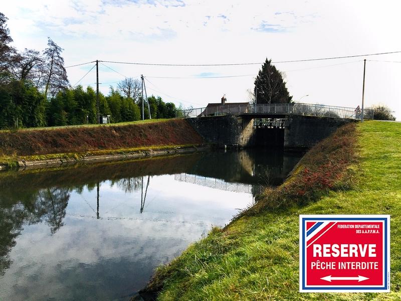 Réserve de pêche temporaire sur le bief n°10 du Canal Latéral à la Loire à Garnat sur Engièvre