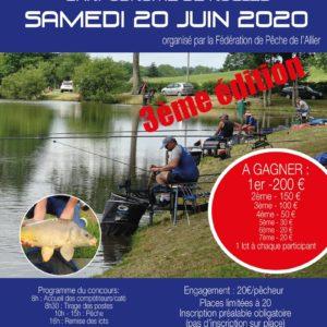 3ème édition du concours de pêche au coup du carpodrome de Rocles