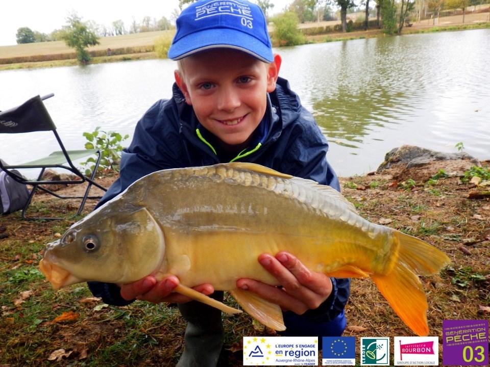 Les inscriptions pour la saison 2020/2021 de l'école de pêche de la Fédération sont ouvertes