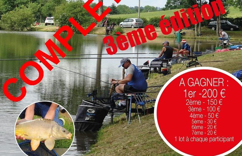 Concours de pêche au carpodrome de Rocles confirmé
