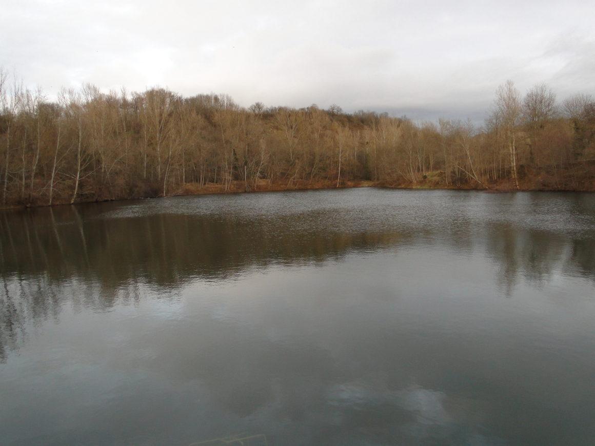 Déversement de truites au plan d'eau des Bignards