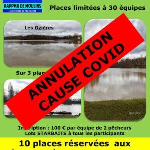 Enduro AAPPMA Moulins – Annulation