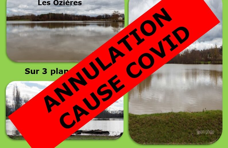 Enduro AAPPMA Moulins – Annulation