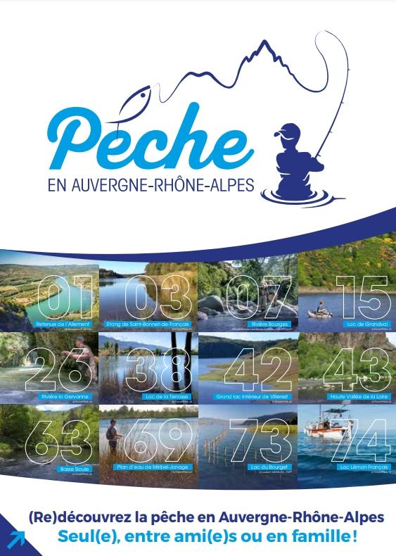 GUIDE Pêcher en Auvergne-Rhône-Alpes