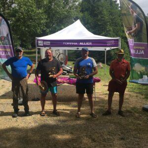 Record de prises au concours fédéral de pêche au coup au Carpodrome de Rocles