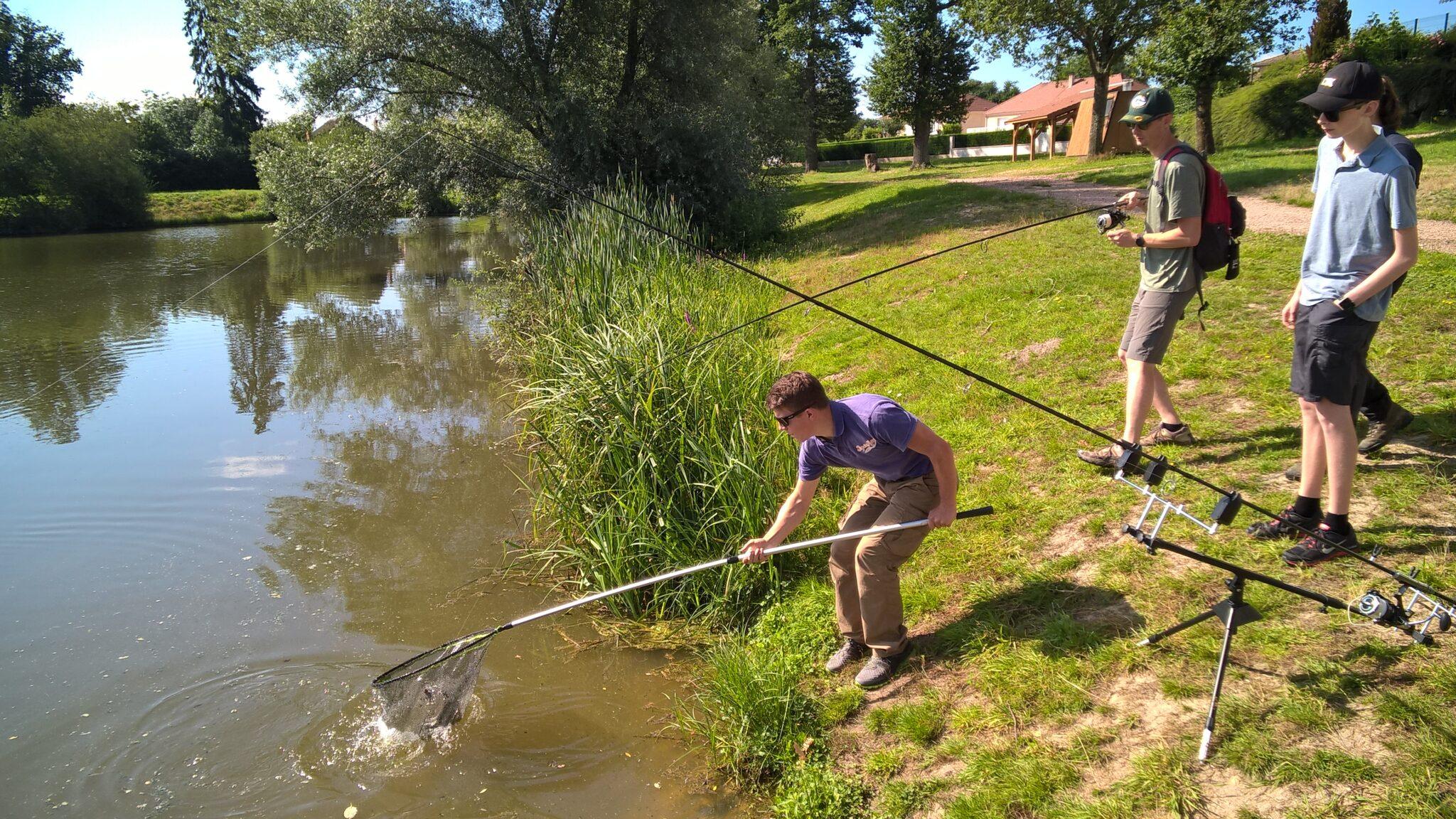 3 – animation pêche bassin Maurice juillet 2021