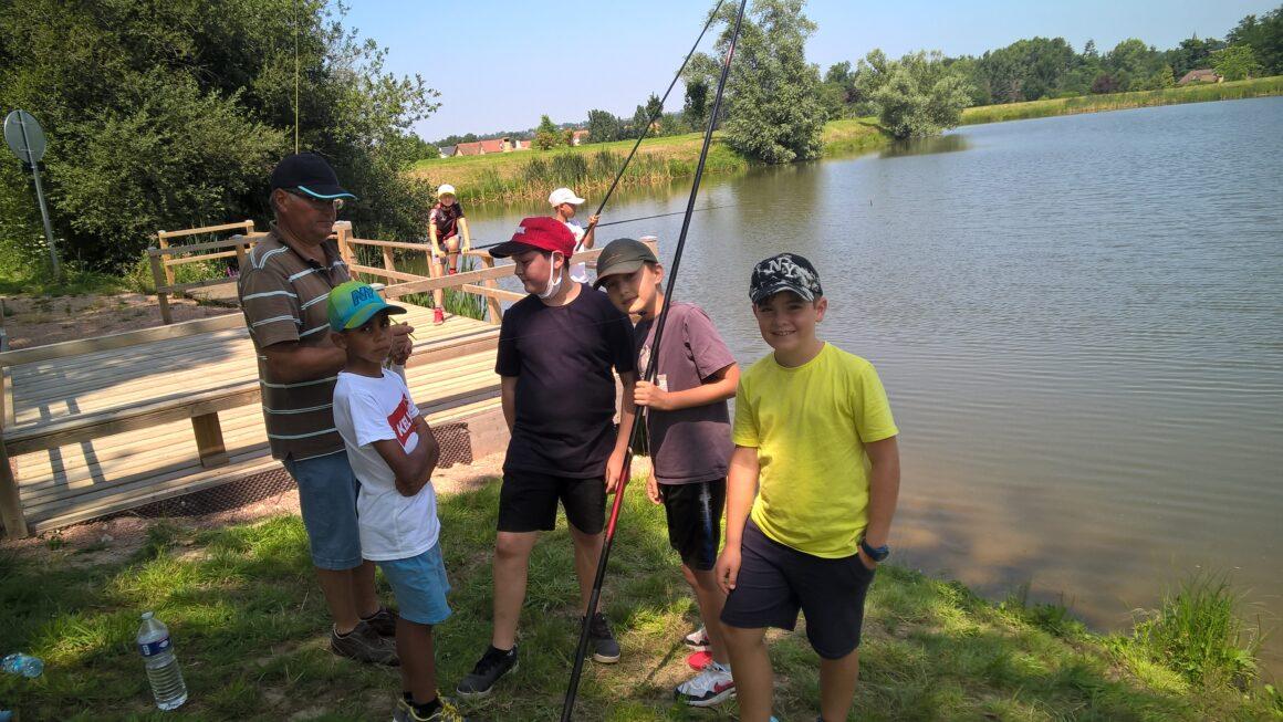 Animation pêche au bassin Maurice de LAPALISSE